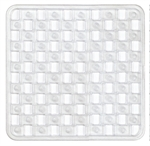 Supertex Home Clear Pvc Shower Mat-bathroom-What's Cooking Online Store