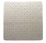 Supertex Home Rubber Shower Mat White-bathroom-What's Cooking Online Store