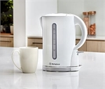Westinghouse Kettle 1.7L White Plastic KE03W-toasters-and-kettles-What's Cooking Online Store