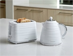 Westinghouse Kettle 1.7L Plastic & 2 Slice Toaster White KTPK07W-toasters-and-kettles-What's Cooking Online Store