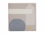 Maxwell & Williams Terrain Ceramic Square Tile Coaster Odda 9cm-coasters-What's Cooking Online Store