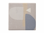 Maxwell & Williams Terrain Ceramic Square Tile Coaster Ornes 9cm-coasters-What's Cooking Online Store