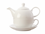 Maxwell & Williams White Basics Tea For One 425ML Gift Boxed-maxwell-and-williams-What's Cooking Online Store